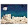 패브릭 포스터 F165 달 Full moon 보름달 [중형]