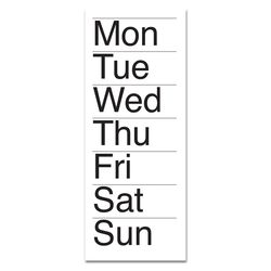 LIST-Days of the week