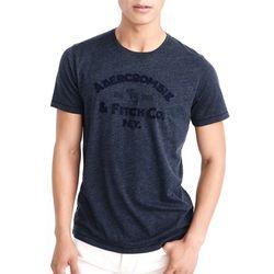 아베크롬비 반팔 티셔츠 2281200 네이비 Abercrombie