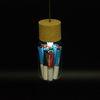 매달아쓰는 LED 9마리편지 4색 X유리병편지