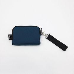227 이이칠 CH COIN BAG [ BLUE GREEN ]