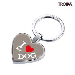 I LOVE MY DOG 펜던트 키홀더 (KYR22-A178)