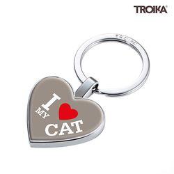 I LOVE MY CAT 펜던트 키홀더 (KYR22-A179)