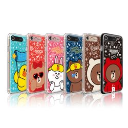 라인프렌즈 아이폰7P 8 Plus New G 라이팅 케이스