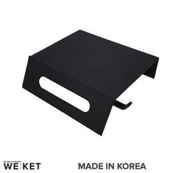 SW 블랙 거치대형 휴지걸이