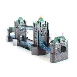 3D이노메탈퍼즐 건축물 런던타워브리지