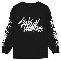 L-WORKS TAGGING(BLACK)