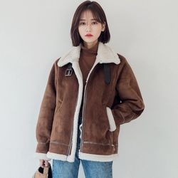 [로코식스] teddy buckle mustang JK무스탕