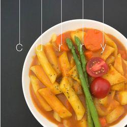 [매료] 카레 밀떡 2인분(1인분씩 개별포장)