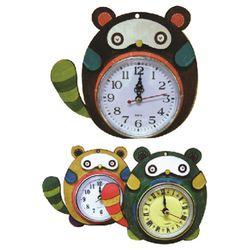 [캐릭터우드DIY] 너구리시계 -너굴시계(소)