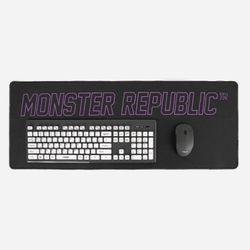 WIDE MOUSE MAT  PURPLE
