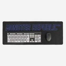 WIDE MOUSE MAT  BLUE