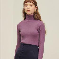 Basic Polar Knit 3colors(Ivory Purple Black)