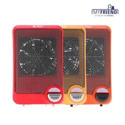 마이프랜드 탁상용 미니 온풍기 전기 히터 MF-1580