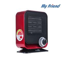 마이프랜드 탁상용 미니 온풍기 전기 히터 MF-140P