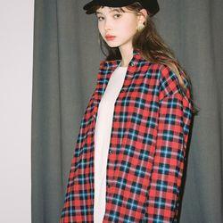 [살롱드욘]Check Shirt 2colors(White Red)