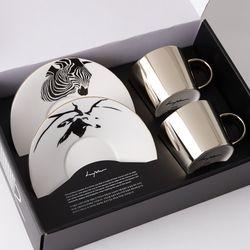 [LUYCHO] 원형 Short Gift Set - Zebra+Sika Deer