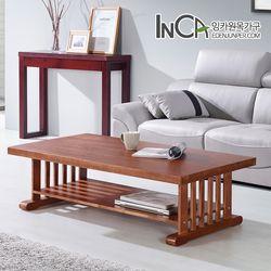 미라쥬 애쉬 원목 선반 테이블 1200