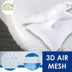 뒷목을 받쳐주는 통기성 좋은 3D 에어매쉬 경추베개솜