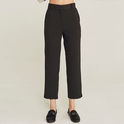 VENT LEGGED NAPPING SLACKS (BLACK)