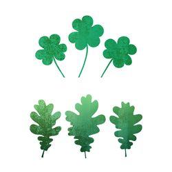 블랭코 스텐실도안702 나뭇잎 모음(3)