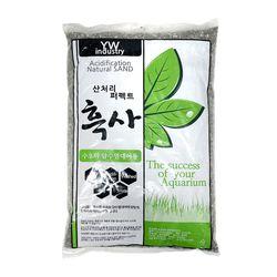 천연 프리미엄 산처리 자연흑사 8kg