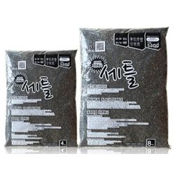 천연 프리미엄 산처리 자연흑사 4kg