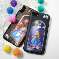 디즈니 앨리스 원더랜드 슬림 더블 카드 케이스 정품