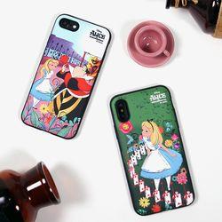 디즈니 앨리스 퀸스가든 슬림 더블 카드 케이스 정품