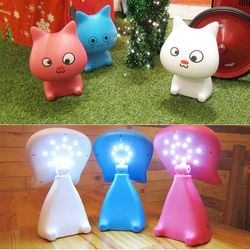 USB 충전식 LED 스탠드 (Cat Lamp) SL-200