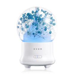 드보르 JD-F50 초음파가습기 블루 안개꽃 미니가습기