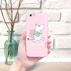 무민 케이스 핑크 카드범퍼 - 2TYPE(아이폰6 6S)