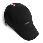 18 JW LINE CAP BLACK