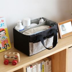코니테일 기저귀 정리함 - 블랙 (기저귀가방)