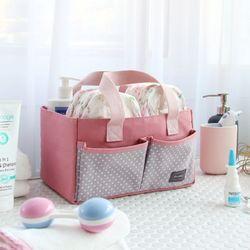 코니테일 기저귀 정리함 - 핑크 (기저귀가방)