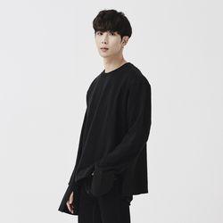 [제너럴코튼] 셔츠 맨투맨 블랙