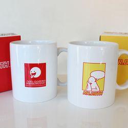Mr.Donothing Mug Cup - Red
