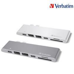 버바팀 USB 3.1 타입C 듀얼 충전 허브 HDMI