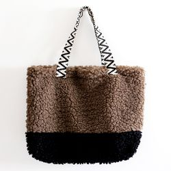 brown cozy bag