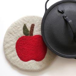 apple pot mat