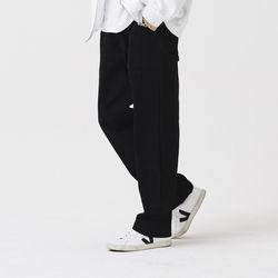 [제너럴코튼] 와이드팬츠 블랙