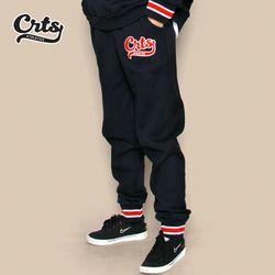 CRTS Stripe Banding Sweatpants (Navy)