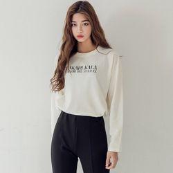 [로코식스] kara lettering T (napping)티셔츠