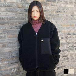 1004 남녀공용 양털 포켓자켓 (2colors)