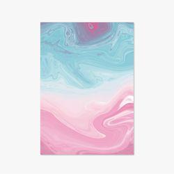 Marbling Series - Type B - Skyblue Pink
