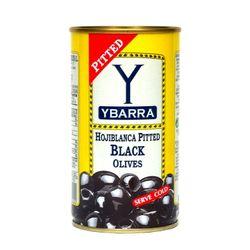 [치즈파티] 이바라 블랙 올리브 피티드 350g
