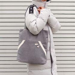 Kangaroo pocket bag - Soft Gray