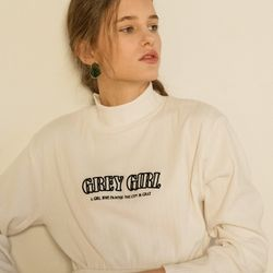 GIRL HIGH POLA T (IVORY)