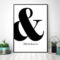 달콤신혼 커플  포스터 (A4)