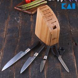 [일본직수입] 카이 와사비 주방칼 5종 블럭세트